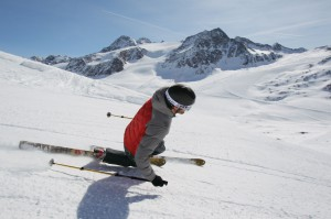 Telemark Opening in Val Senales