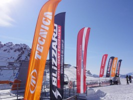 Ski test in Val Senales